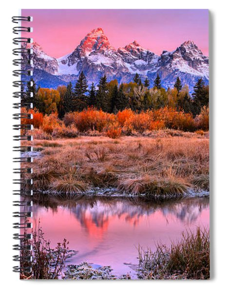 Red Tip On The Grand Spiral Notebook