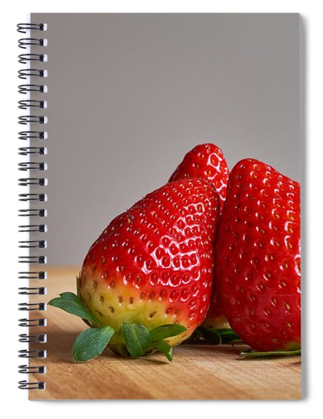 Red Trio Spiral Notebook