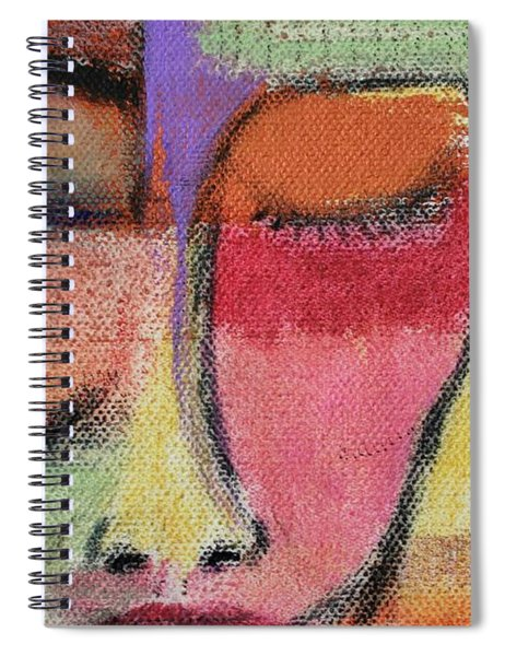Red Wisdom Spiral Notebook