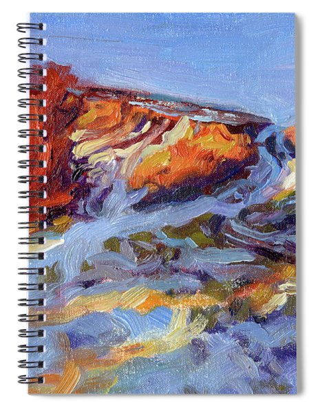 Redbush Spiral Notebook