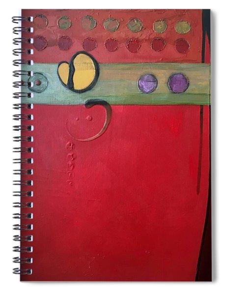 Redder Please Spiral Notebook