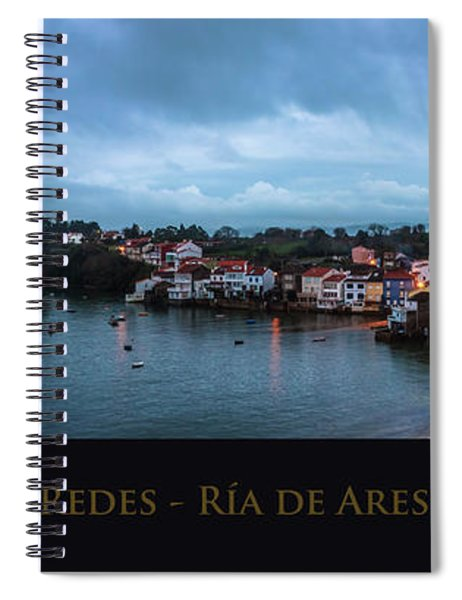 Redes Ria De Ares La Coruna Spain Spiral Notebook