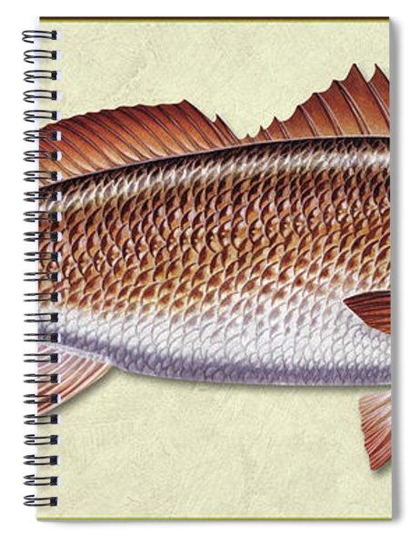 Redfish Id Spiral Notebook