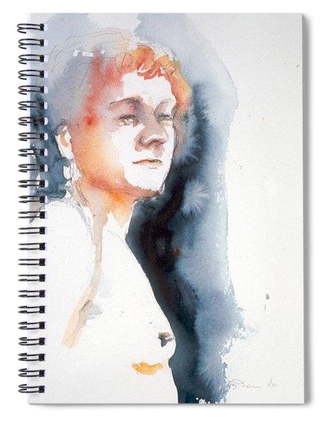 Redhead #1 Spiral Notebook