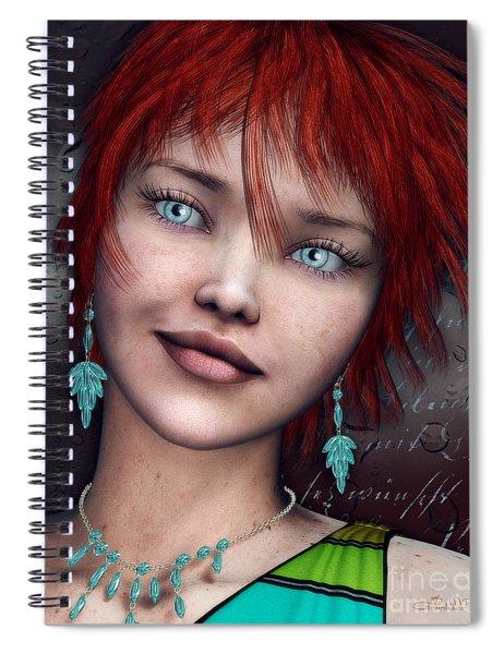 Redhead Spiral Notebook