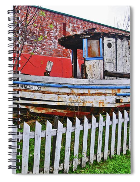 Redneck Dry Dock Spiral Notebook