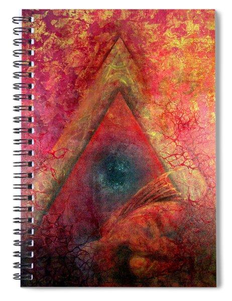Redstargate Spiral Notebook