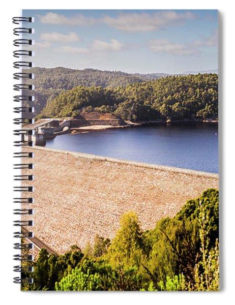 Reece Dam, Western Tasmania Spiral Notebook
