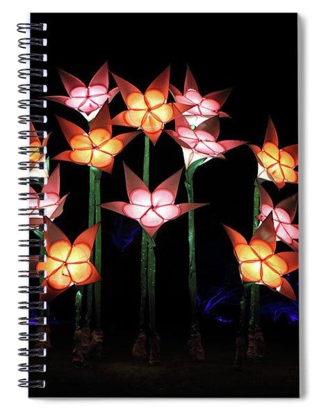 Illuminated Tulips Wisley Spiral Notebook