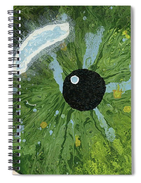 Reflected In The Eye Of A Child Never Born Spiral Notebook