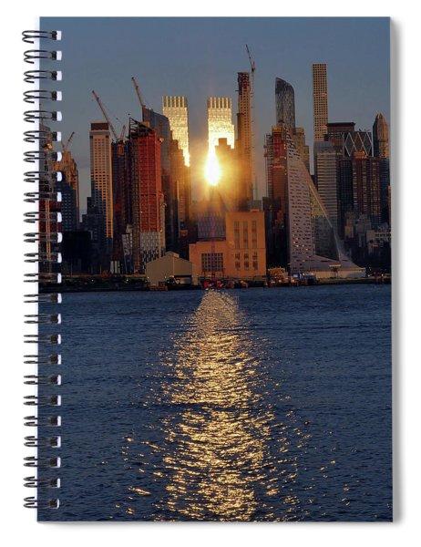 Reflected Sunset Spiral Notebook