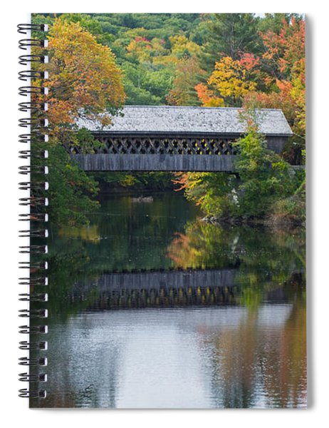 Reflecting Bridge Spiral Notebook