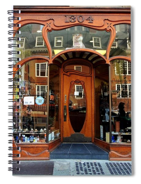 Reflecting On A Cambridge Shoe Shine Spiral Notebook