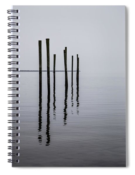 Reflecting Poles Spiral Notebook