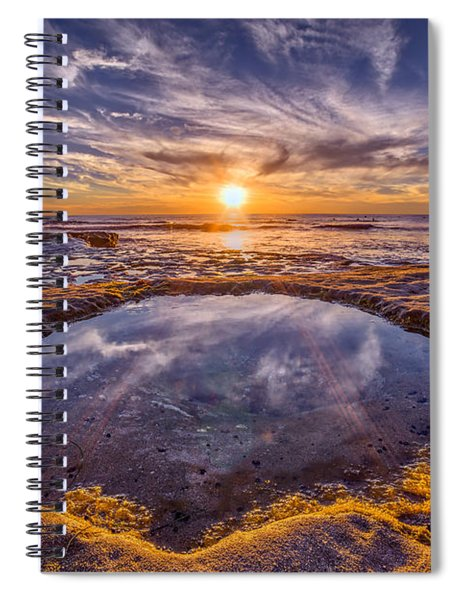 Reflecting Pool Spiral Notebook
