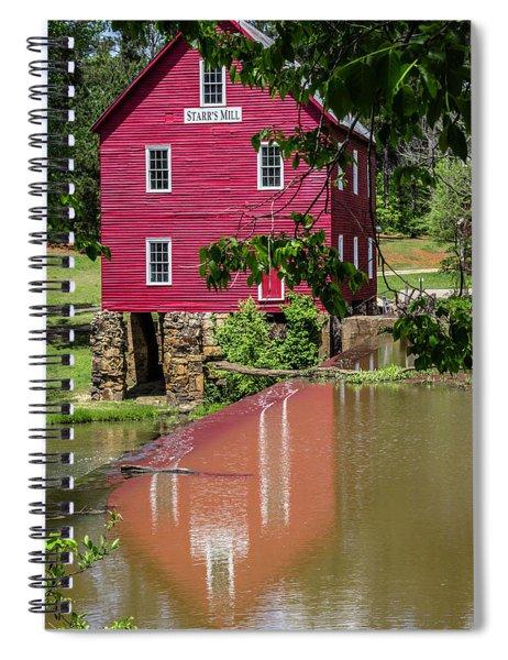 Starrs Mill Reflection Spiral Notebook