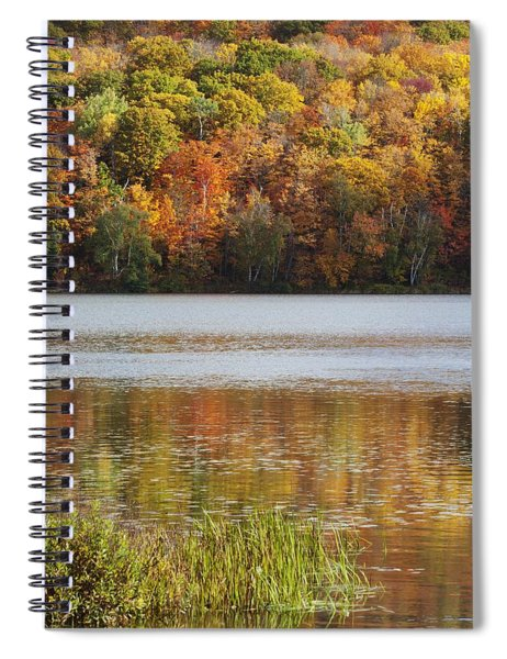 Reflection Of Autumn Colors In A Lake Spiral Notebook
