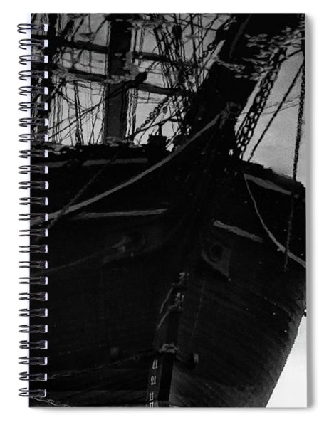 Reflection Of The Past Spiral Notebook