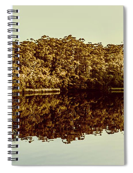 Reflections From Cockle Creek  Spiral Notebook
