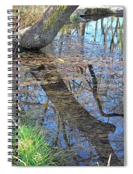 Reflections I Spiral Notebook