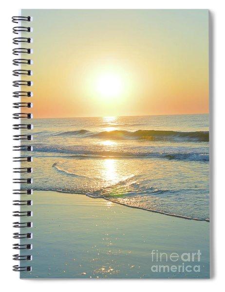 Reflections Meditation Art Spiral Notebook