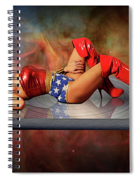 Reflections Of A Wonder Woman Spiral Notebook