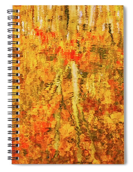 Reflections Of Fall Spiral Notebook