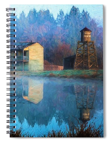 Reflections Of Hope - Hope Valley Art Spiral Notebook