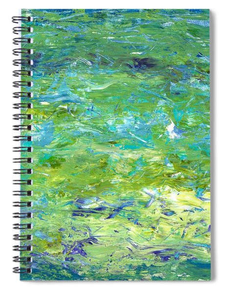 Reflections Of Light Spiral Notebook