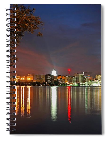Reflections Of Madison Spiral Notebook