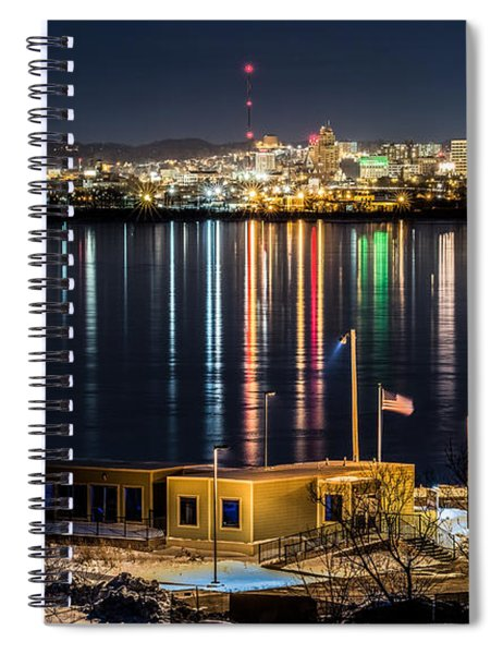 Reflections Of Syracuse Spiral Notebook