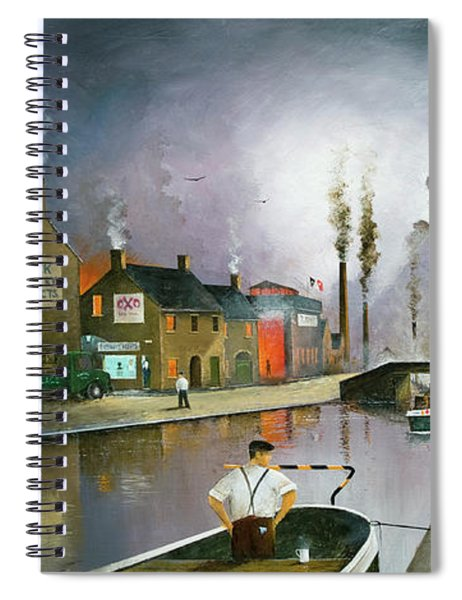 Reflections Of The Black Country Spiral Notebook