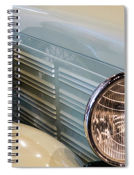 Reflections Of The Past Spiral Notebook