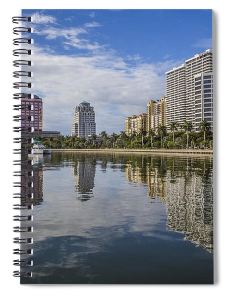 Reflections Of West Palm Beach Spiral Notebook