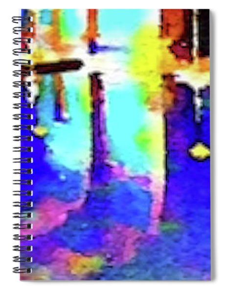 Reflective Pool Hearst Castle Spiral Notebook