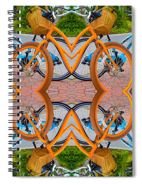 Reflective Rides Spiral Notebook