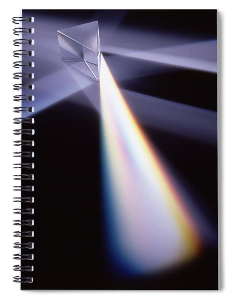 Refraction Spiral Notebook
