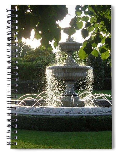 Regents Park Fountain Spiral Notebook