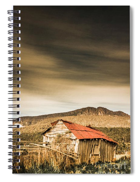 Regional Ranch Ruins Spiral Notebook