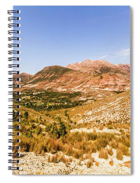 Regional Ruggedness Spiral Notebook
