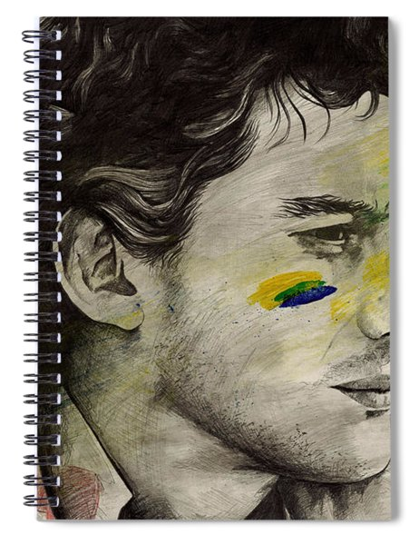 Rei Do Brasil - Tribute To Ayrton Senna Da Silva Spiral Notebook