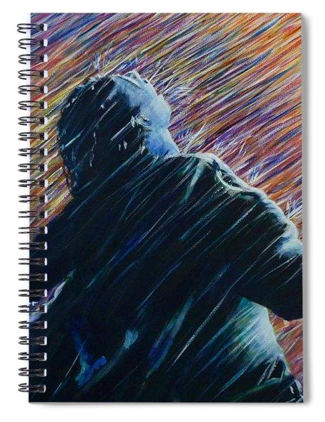 Reign O'er Me Spiral Notebook