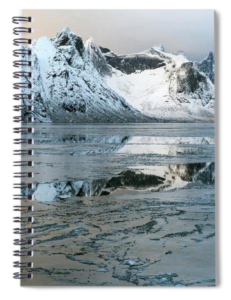 Reine, Lofoten 5 Spiral Notebook