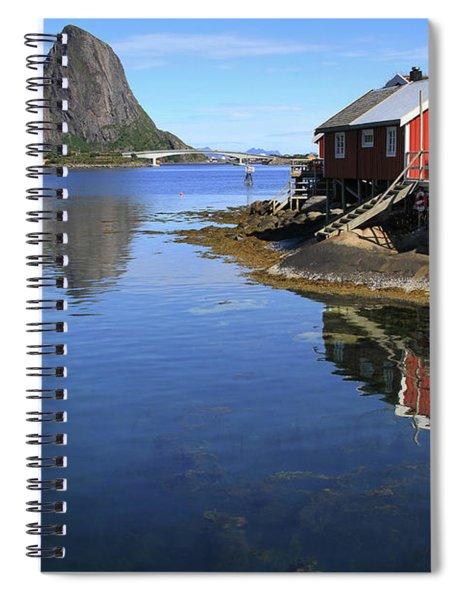 Reine, Norway Spiral Notebook