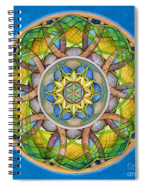 Rejuvenation Mandala Spiral Notebook