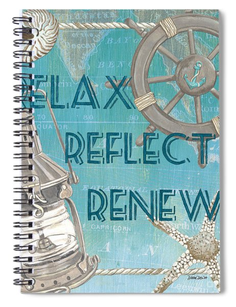 Relax Reflect Renew Spiral Notebook