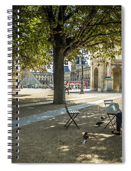 Relaxing Afternoon In Paris Spiral Notebook
