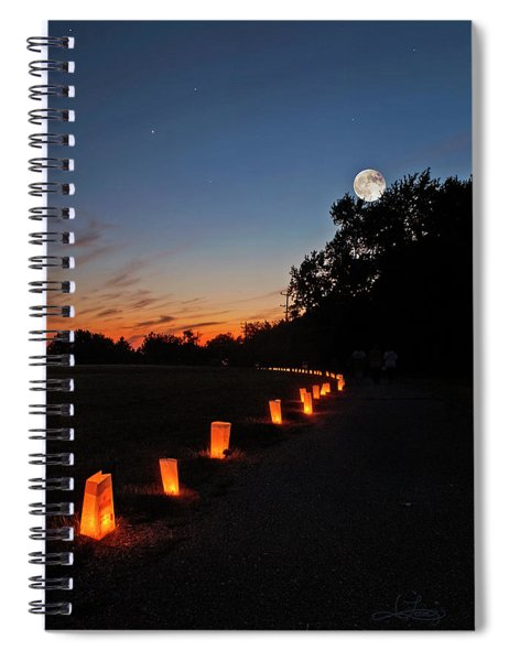 Relay  For Life Spiral Notebook