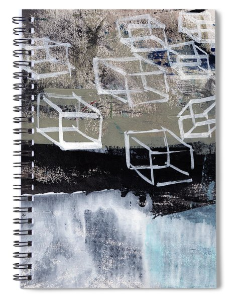 Released- Abstract Art Spiral Notebook