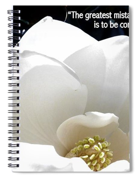 Relief 2, With Quote.  Spiral Notebook